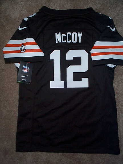 pretty nice 234f4 2d5e4 Cleveland Browns COLT McCOY nfl NIKE Jersey YOUTH KIDS *GIRLS* (L-LARGE 14)