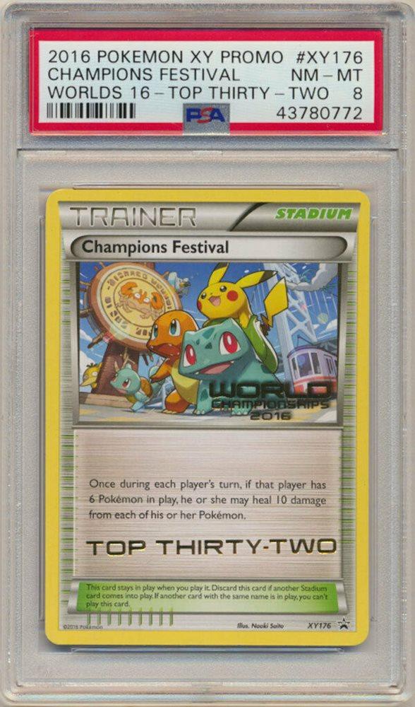 Pokemon Champions Festival XY176 XY Black Star Promos  NM-Mint Fast Shipping!