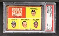 1962 Topps - [Base] #595 - Rookie Parade - Bob Sadowski, Ed Charles, Marlan Coughtry, Felix Torres [PSA 8 NM‑MT]