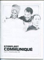 Starfleet Communique - Star Trek Fanzine Issue #41   1990