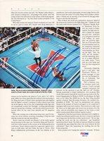 Mike Tyson Autographed Magazine Page Photo Vintage PSA/DNA #Q65702Mike Tyson Autographed Magazine Page Photo Vintage PSA/DNA #Q65702