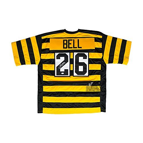 best loved de263 8d3be Le'Veon Bell Autographed Pittsburgh Steelers Alternate Custom Jersey - JSA  COA
