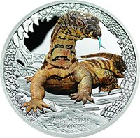 2019 Tuvalu 1 oz Silver Australian Lionfish Proof SKU#190321