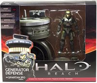 HALO REACH SERIES 5 SPARTAN JFO ACTION FIGURE From Gene