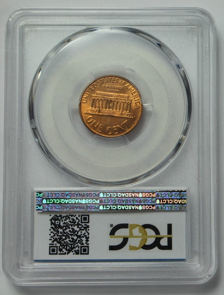 1963-D Lincoln Memorial Cent BU Unc PCGS MS66RD Red MS66