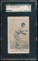 1921 E121 American Caramel (Series 80) -JOHN McGRAW (Giants) SGC 40 *HOF