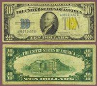1934-A $10 FR-2309 North Africa