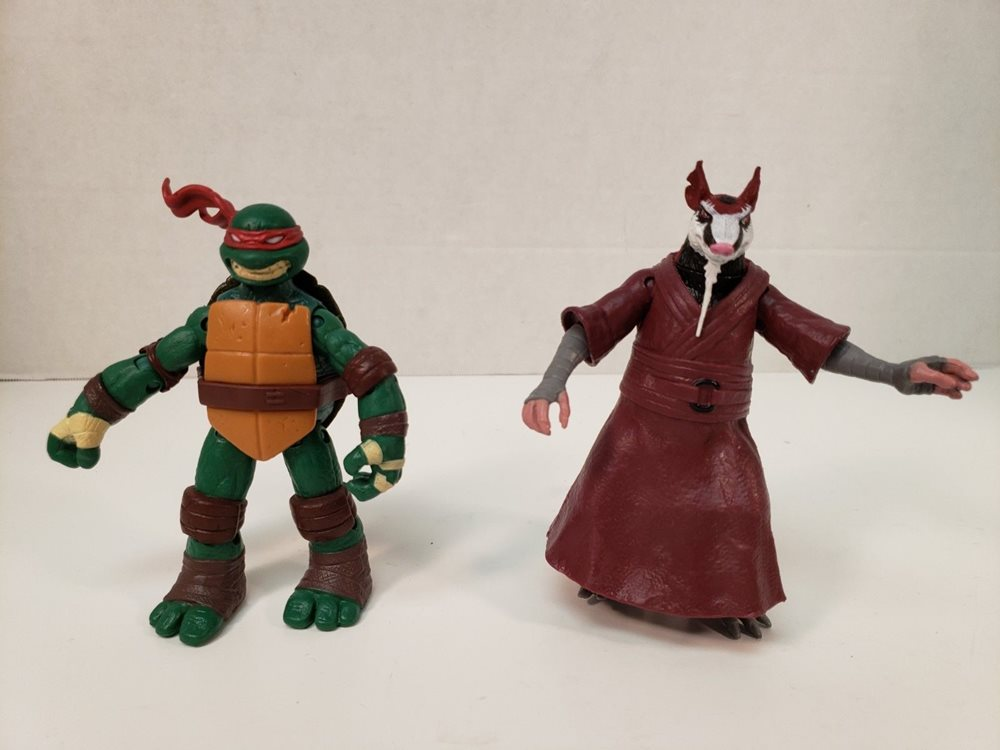 Teenage Mutant Ninja Turtle Splinter Michaelangelo Figu