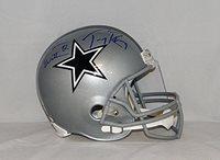 d5d497489 Jason Witten Tony Romo Signed Full Size Dallas Cowboys Helmet - JSA  Authenticated - Autographed NFL
