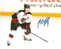 Medicine Hat Tigers Hunter Shinkaruk Autographed Signed 8x10 Photo COA