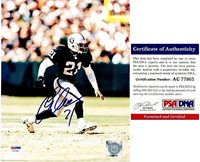 Eric Allen Autographed Signed Oakland Raiders 8x10 Photo - PSA DNA  AuthenticCUSTOM FRAME YOUR JERSEY 5a7c15a15