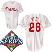 Chase Utley Hand-Signed Jersey With Certificate Of Authenticity eace6fe4fe3