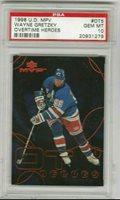 Wayne Gretzky 1998-1999 Upper Deck UD MVP Overtime Heroes PSA 10 Gem Mint *POP4*