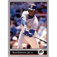 1e5c43b564 1990 Leaf Baseball Ken Griffey Jr # 392