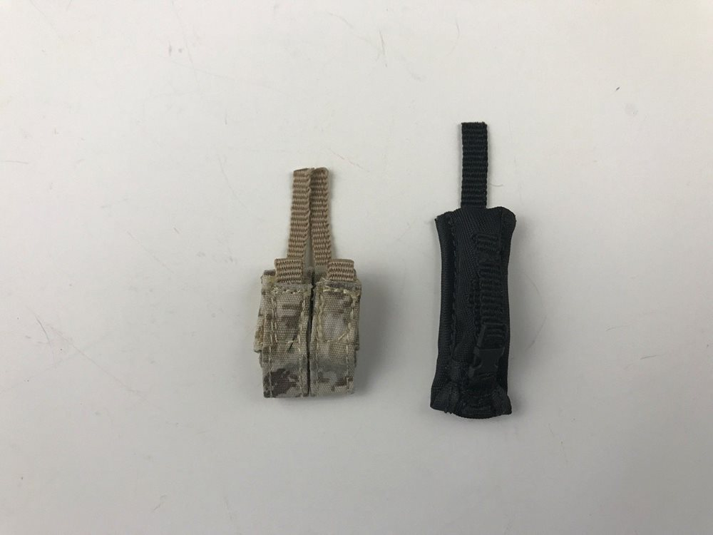 Navy Seal MK46MOD1 Gunner Pistol Magazine Pouches 1//6th Scale by Soldier Story