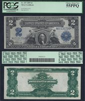 LG SC $2.00 1899 PCGS 55 PPQ Fr 257