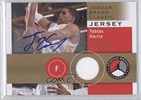 Tobias Harris (Basketball Card) 2011-12 SP Authentic Jordan Brand Classic Jersey Autographs [Autographed] #JBC-TH