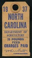 SRS NC FET34 1937 75 lbs. blue, brown (brown) used, VF