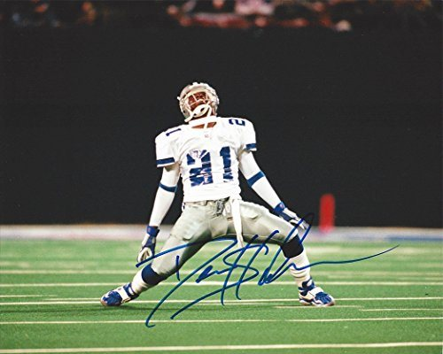 best sneakers 9af0a a5c3a AUTOGRAPHED Deion Sanders #21 DALLAS COWBOYS (Primetime) Rare Signed NFL  Football Glossy 8X10 inch Photo with COA