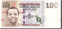 100 Emalangeni Swaziland Banknote, 2010-09-06, Km:39a
