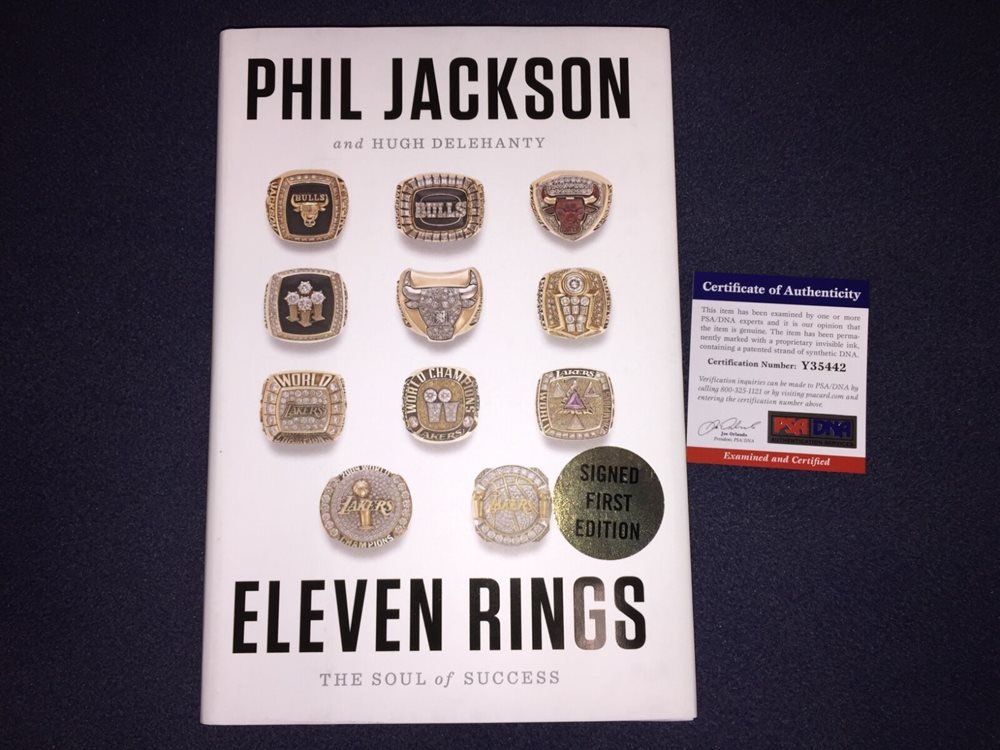 Phil Jackson Book Eleven Rings