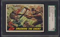 """1962 Mars Attack #50 Smashing The Enemy SGC 84 NM 7 """"""""1962 Mars Attack #50 Smashing The Enemy SGC 84 NM 7 """""""""""