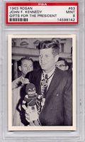 1963 Rosan - John F. Kennedy - Gifts For The President #63 PSA 9