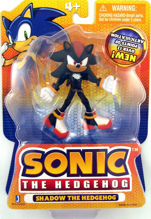 Sonic The Hedgehog 3 Inch Action Figure Series 2 Shad
