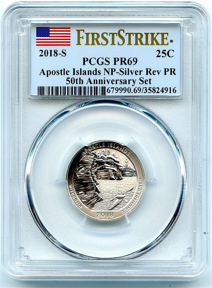 COIN CLAD PROOF QUARTER SET ATB .25 EARLY RELEASES PF 70 2018-S NGC PF70 5