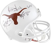 16c18e1cf45 Earl Campbell, Ricky Williams, Colt McCoy, Vince Young Texas ...