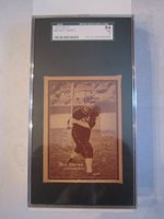 1931 W517 ART SHIRES #43 BASEBALL CARD SGC GRADED 84 NM - BOX CC