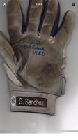 Gary Sanchez Autographed (PAIR) Game Used Batting Gloves