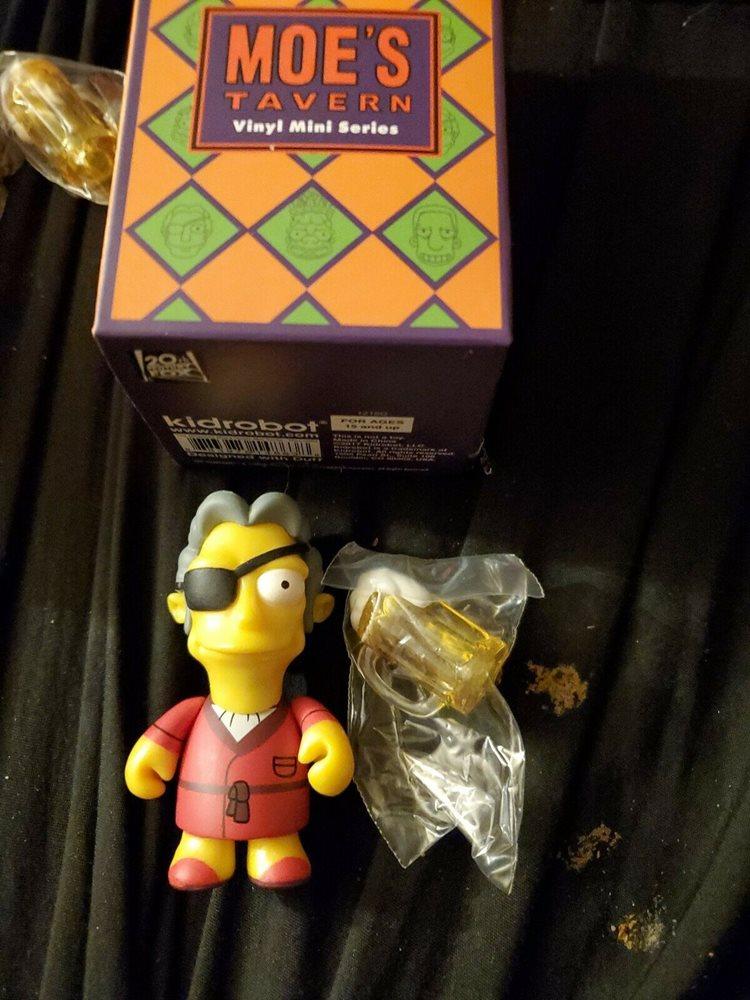 The Simpsons Moe/'s Tavern KidRobot Vinyl Mini Series 2//24 Sam