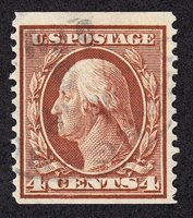 US 354 4c Washington VF SCV $275