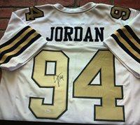 best service 066ab f37d2 Cameron Jordan autographed signed jersey NFL New Orleans Saints PSA COA Pro  Bowl