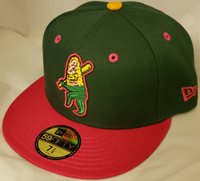 NWT NEW ERA Clinton LUMBERKINGS ELOTES copa 59FIFTY size fitted cap hat MiLB