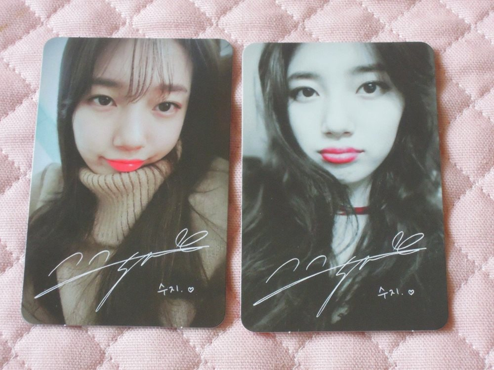 Miss A Suzy 1st Mini Album Yes No Photocard Kpop Jyp