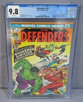 DEFENDERS #13 (Squadron Sinister) CGC 9.8 NM/MT White Pages Marvel Comics 1974