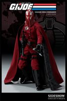 2009 SDCC Exclusive Crimson Cobra Commander - G.I. Joe 1:6 Scale Doll Figure Sideshow Toys