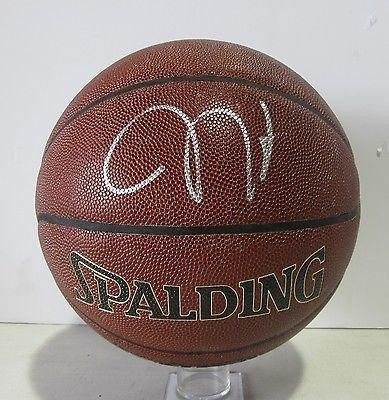 online store e56e6 5f20b JAMES HARDEN SIGNED AUTOGRAPHED NBA SPALDING I/O BASKETBALL TRISTAR #7609624