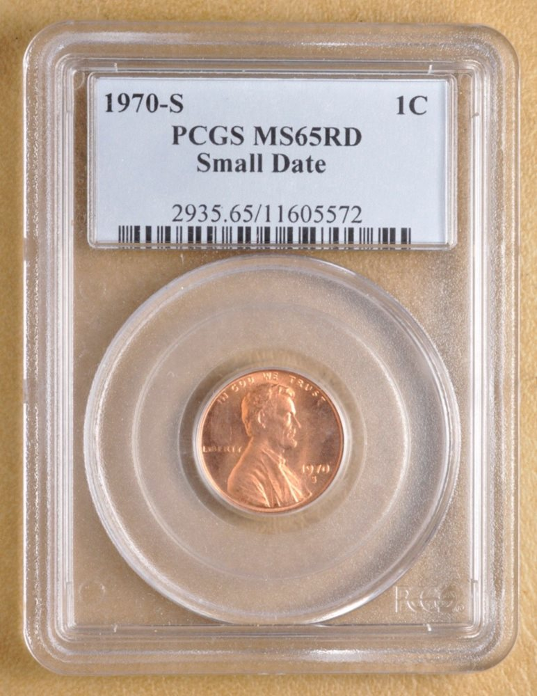 1970 Gold Penny