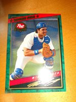 1994 Topps Post Cereal Mike Piazza Rookie Star Card 1