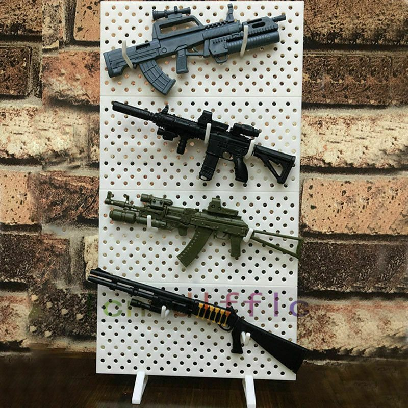 1//6 Modular Weapon Model Display Stand Wall Show Storage For 1//6 Gun Figure