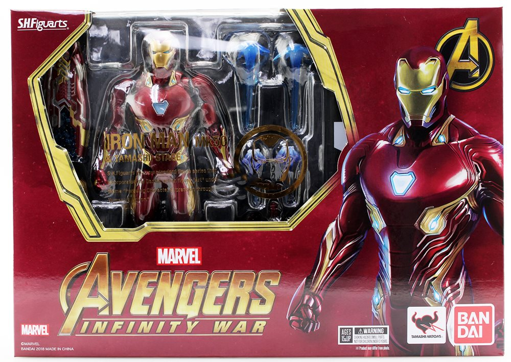 """S.H.Figuarts SHF Marvel Avengers Infinity War 6/"""" Iron Man MK50 Action Figure Toy"""