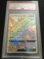 Pokemon TCG PSA 10 Full Art Secret Rare Turtonator GX x1 Pokemon Gem Mint