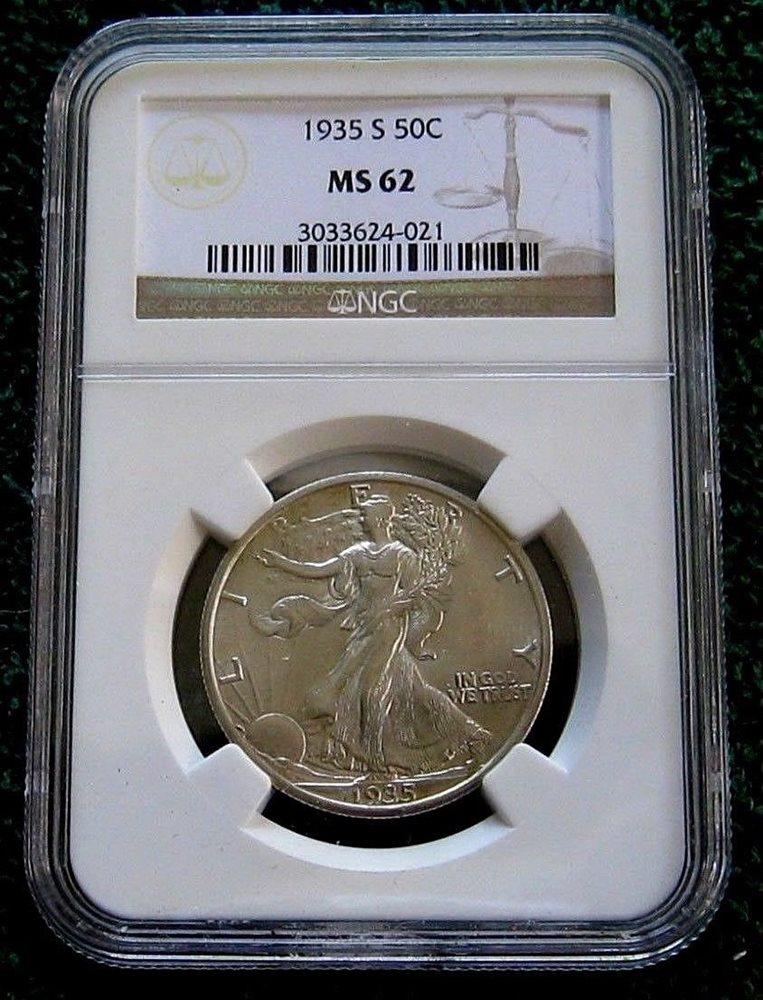 Walking Liberty Half Dollar NGC MS63 1942 U.S 50¢