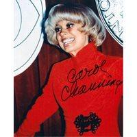 Carol Channing signed authentic 8x10 photo COA