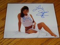 """SANDRA TAYLOR AUTOGRAPHED SIGNED PHOTO CERTIFICATE """"I'M BABY SOFT"""""""
