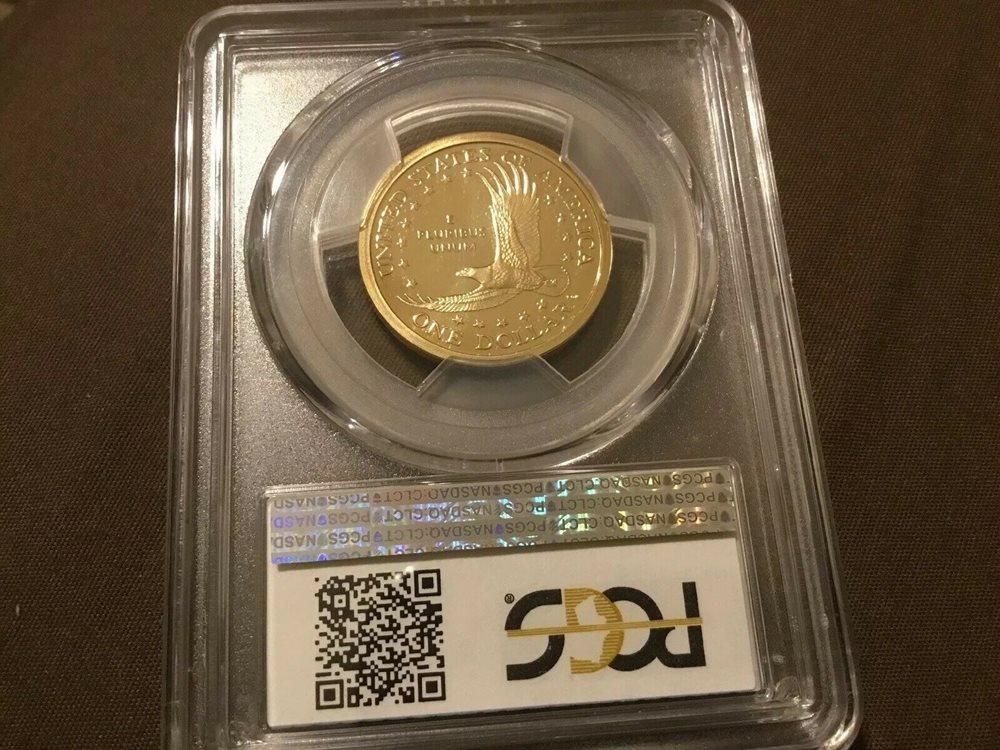 2009 S $1 Sacagawea Dollar PCGS PR70DCAM