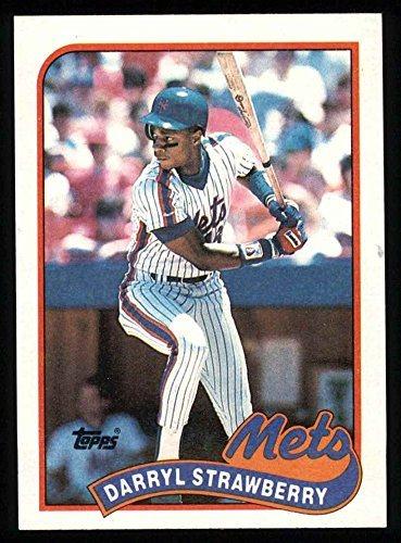 1989 Topps 300 Darryl Strawberry New York Mets Baseball Card Deans Cards 8 Nmmt